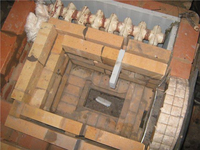Печки из кирпича с водяным отоплением