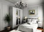 Белая мебель в спальне какие обои подобрать