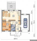 Проекты домов с мансардой чертежи бесплатно