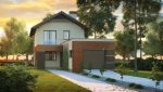 Проекты узких длинных домов для участков