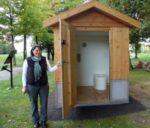 Как построить туалет на улице своими руками