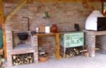 Уличная печь с мангалом и казаном своими руками на даче