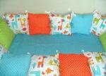 Сколько метров ткани нужно на бортики в детскую кроватку